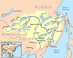 parana river map amur river