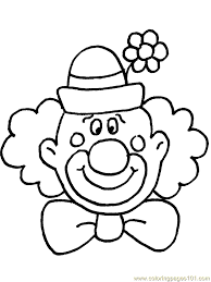 free clown coloring pages u2013 corresponsables