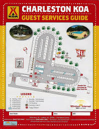 Charleston Sc Zip Code Map by Ladson South Carolina Campground Charleston Koa