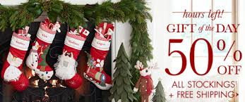Pottery Barn Kids Stockings Pottery Barn 50 Off All Stockings Plus Free Shipping