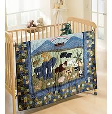 Noah S Ark Crib Bedding Noah S Ark Baby Bedding Quilt Collection By Donna Sharp Black