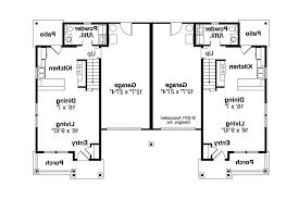 duplex townhouse plans duplex house plans seniors architecture plans 77040