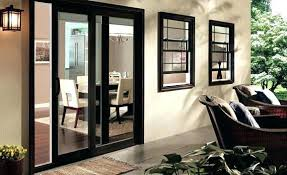 Secure Sliding Patio Door Full Image For Black Pella Patio Doors Pella Sliding Glass Door