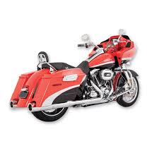 Vance And Hines Dresser Duals by Vance U0026 Hines Hi Output Slip Ons Chrome With Chrome End Caps 450