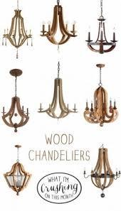 Wood Chandelier Wood Chandelier Lighting Foter