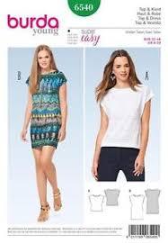dress pattern without darts burda sewing pattern misses plain top dress without fashening