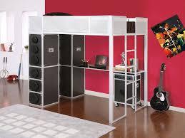 Metal Frame Loft Bed With Desk Full Size Loft Bed Frame Modern Loft Beds