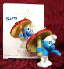 hallmark smurf ebay