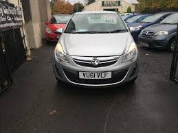 vauxhall corsa 2011 1 2 petrol manual 3 door hatchback silver