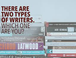 Or Books A New Type There Are Two Types Of Writers Which One Are You The Write