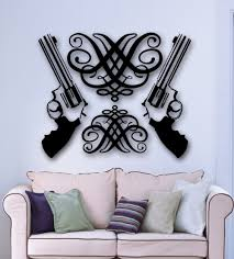 vinyl wall stickers gun promotion shop for promotional vinyl wall