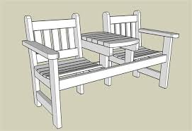 garden bench with plans woodworking tools in action