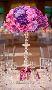 Purple Flowers Centerpieces by 59 Best Purple Quinceanera Theme Images On Pinterest Marriage