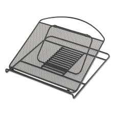 Safco Mesh Desk Organizer by Onyx Adjustable Steel Mesh Laptop Stand By Safco Saf2161bl