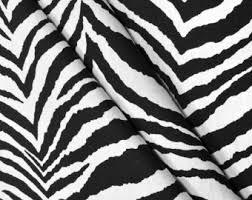 Zebra Print Curtain Panels Zebra Print Curtains Etsy