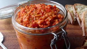 calabrian cuisine bomba calabrese spicy calabrian pepper spread allrecipes com