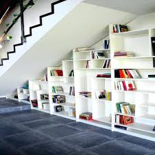 stair bookcase bookshelf under stairs stair bookcase bookshelves use of built into
