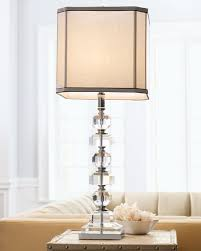 stacked cubes crystal table l stacked crystals table l