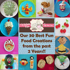 our 2 year blog anniversary with 30 of our best fun food creations