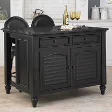 Kitchen Islands Black Home Styles Bermuda Black Kitchen Island 5588 94x