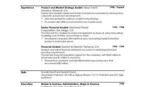 example resume personal profile resume sample profile example