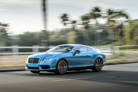 bentley blue color 2014 bentley continental gt v8 s first test motor trend