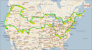 Map Of Us And Canada Download Road Map Canada Major Tourist Attractions Maps