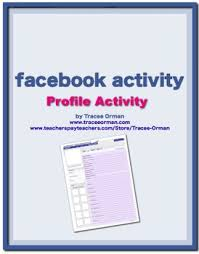 free facebook profile character sketch any novel activity by
