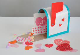 mailbox craft mailbox for valentines day cards startupcorner co