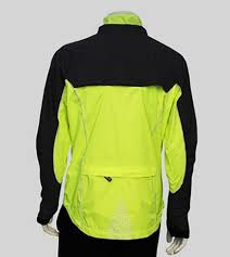 yellow waterproof cycling jacket men u0027s illuminite reflective providence waterproof cycling jacket