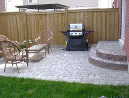 Easy Backyard Landscaping Ideas Simple Backyard Patio Designs For Fine Back Yard Patio Designs