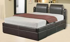 Queen Size Bed With Mattress Emory Queen Size Captain U0027s Bed