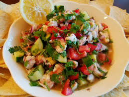 homemade shrimp ceviche recipe by mommy is a chef super bowl