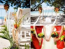 tropical themed wedding themed wedding reception card table