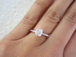 2 carat solitaire engagement rings 2 carat solitaire ring princess cut white gold 1 2 carat