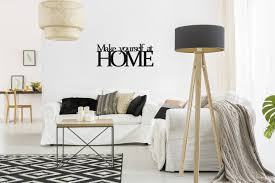wall decoration make yourself at home
