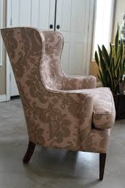 wing chair slipcover diy wingback chair slipcover the clayton design office arm