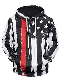American Flag Bed In A Bag Hoodies Xl Kangaroo Pocket Distressed American Flag Hoodie Gamiss