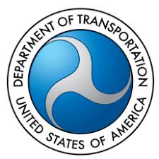 """""""United States of America Department of Transportation"""" seal"""