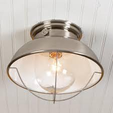 Bathroom Flush Mount Light Fixtures Nantucket Ceiling Light Ceiling Lights Ceilings And Brushed