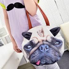 handtaschen design lustige 3d handtasche im mops design oder als katz gadgetwelt de