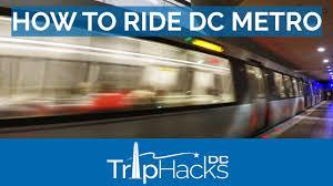 Dca Metro Map by How To Ride Washington Dc Metro Youtube
