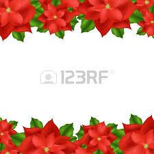 Pointsettia 1 039 Poinsettia Border Stock Vector Illustration And Royalty Free