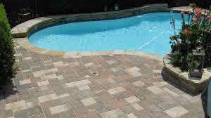pool deck stone pavers home u0026 gardens geek