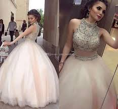 light pink quince dresses light pink gown quinceanera dresses high neck beaded