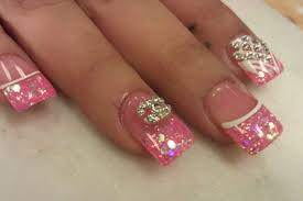 gorgeous designs for short acrylic nails