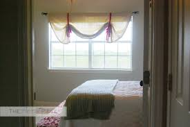 Curtains With Ties Diy No Sew Tie Up Curtains