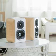 edifier s880 hi fi bluetooth speakers 2 0 ultra stylish bookshelf