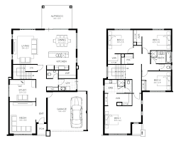 two story house plan floor plan two storey
