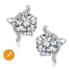 types of earrings for women sagittarius zodiac sign 14k gold plated earring women
